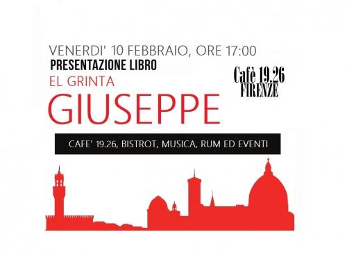 """10 Febbraio – Presentazione libro """"Giuseppe"""" di El Grinta"""